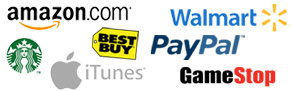 Earn gift cards for Amazon, Best Buy, iTunes, Starbucks, Paypal, GameStop, Walmart and more!